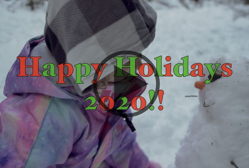 Happy Holidays 2020